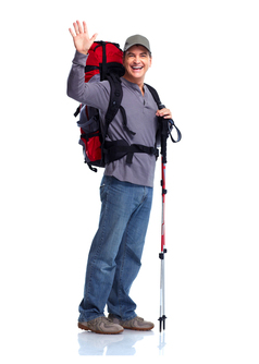 Go Go Conveyancing - male hiker